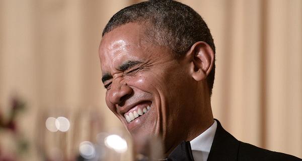 Cười nhiều như ông Barack Obama là cách để trẻ lâu và khỏe mạnh