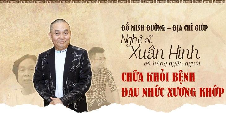 Nghệ sỹ Xuân Hinh và nhiều người bệnh đã khỏi bệnh xương khớp tại Đỗ Minh Đường