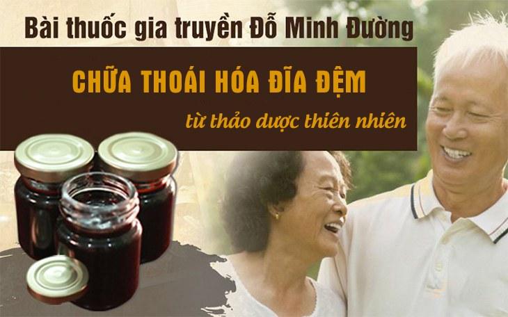 Bài thuốc đông y chữa thoái hóa đĩa đệm Đỗ Minh Đường