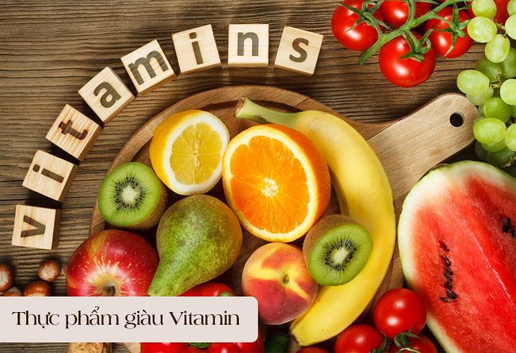 Thực phẩm giàu vitamin giúp người bệnh giảm cơn đau