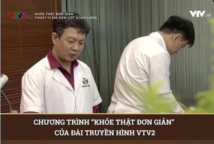 Bài thuốc được giới thiệu trên sóng truyền hình VTV2 đến đông đảo khán giả