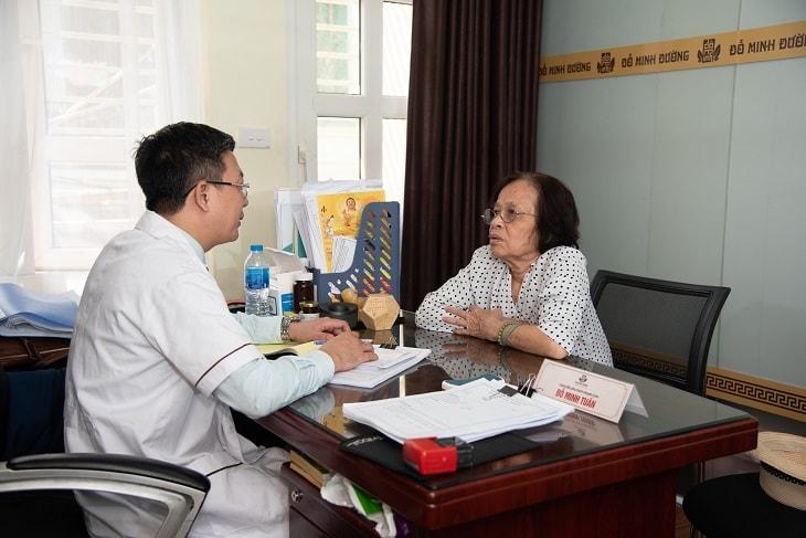 Bệnh nhân của tôi chủ yếu là người cao tuổi, rất cần được chăm sóc chu đáo