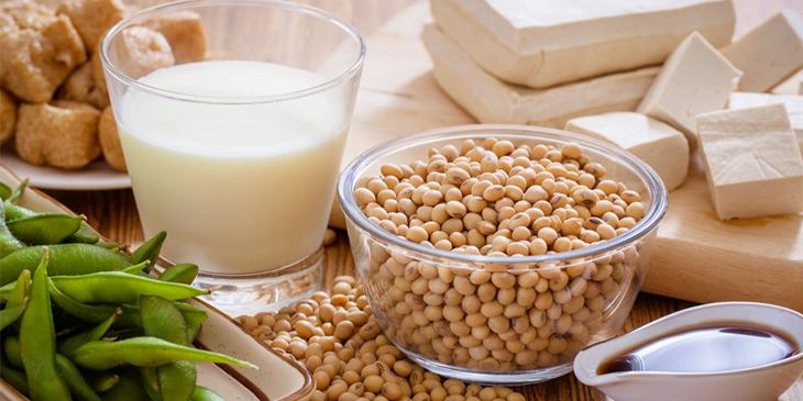 Bổ sung đậu nành và các chế phẩm từ đậu