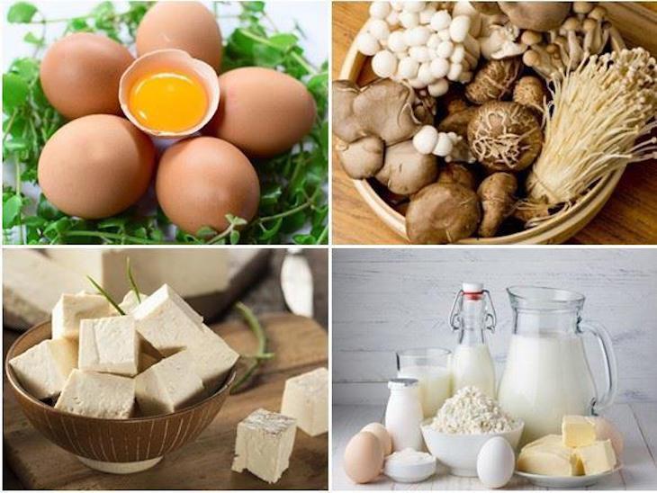 Thoái hóa cột sống thắt lưng nên ăn gì - Bổ sung vitamin D