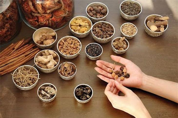 Các bài thuốc Đông y kết hợp dược liệu tự nhiên mang tác dụng điều trị tốt