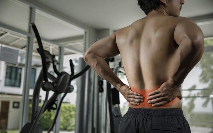 Nguyên nhân thoát vị nội xốp có thể do chấn thương trong quá trình tập luyện