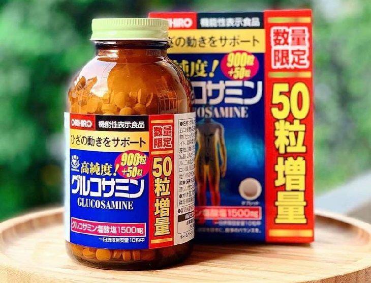 Thuốc chữa viêm đa khớp Glucosamine Orihiro loại 1500mg