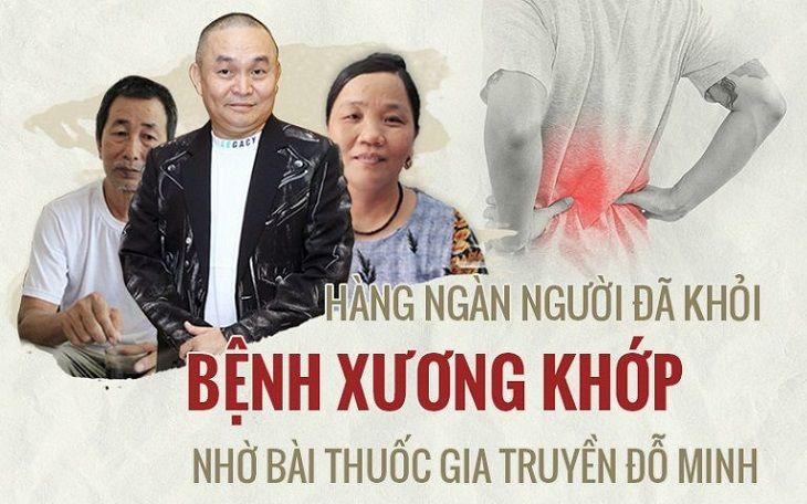 Nhiều người đã khỏi bệnh xương khớp bằng bài thuốc nam gia truyền và liệu trình vật lý trị liệu tại Đỗ Minh Đường