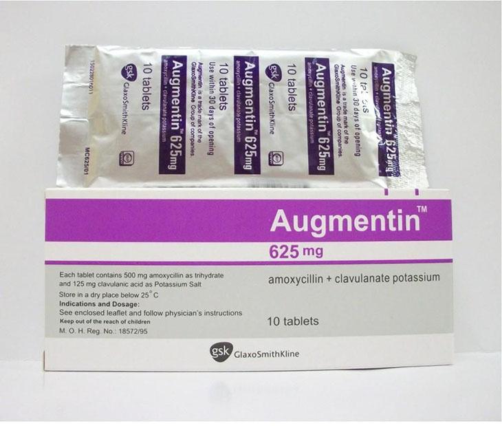 Thuốc chữa viêm xoang Augmentin tiêu diệt vi khuẩn