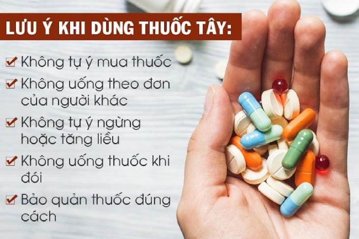 Chú ý khi dùng thuốc Tây điều trị bệnh để đảm bảo hiệu quả