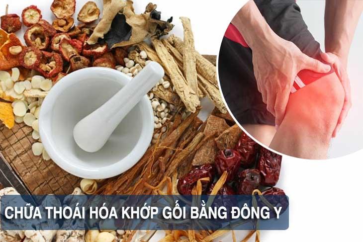 Chữa thoái hóa khớp gối bằng thuốc Đông y cho hiệu quả lâu dài