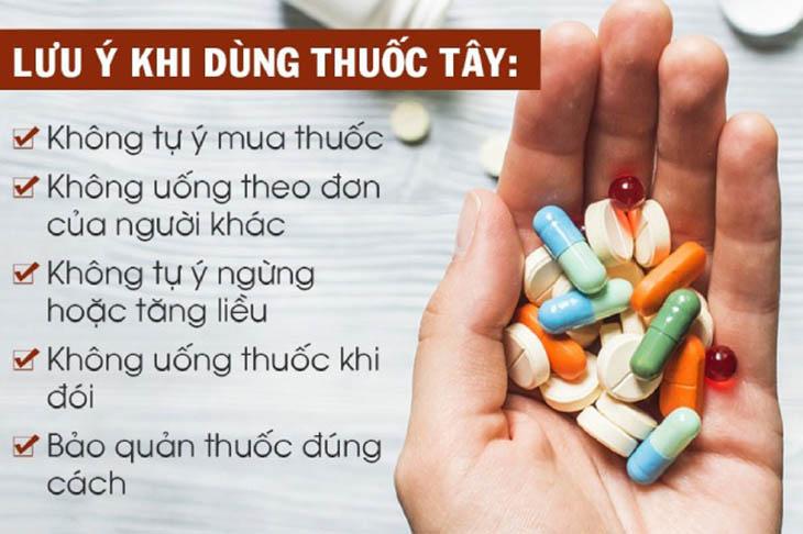 Những lưu ý khi dùng thuốc tân dược để điều trị bệnh