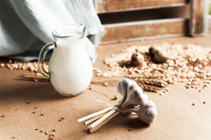 Sữa tỏi chữa viêm họng kéo dài an toàn, hữu hiệu