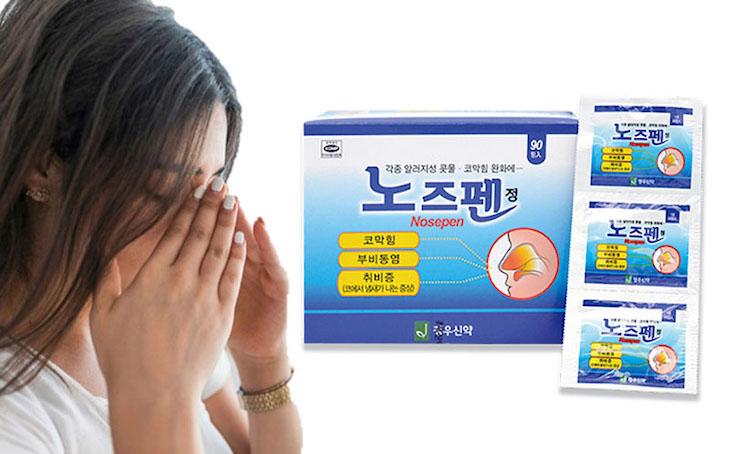 Thuốc trị viêm xoang Nosepen Hàn Quốc