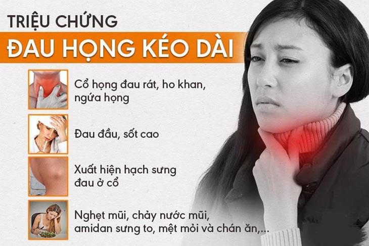 Dấu hiệu đau họng kéo dài bạn nên biết