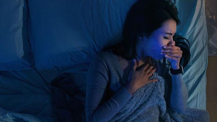 Bệnh ho gây ảnh hưởng nhiều đến sức khỏe và giấc ngủ của người bệnh