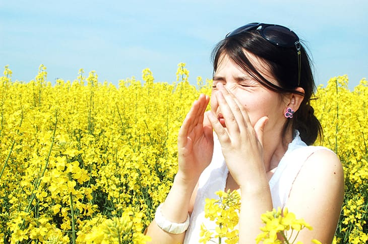 Có nhiều nguyên nhân dẫn đến bệnh lý, trong đó phải kể đến tình trạng kích ứng với phấn hoa