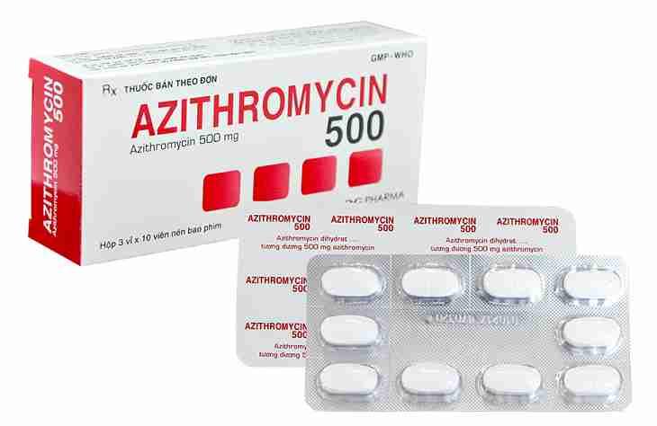 Erythromycin có tác dụng ức chế và ngăn chặn sự phát triển của mầm bệnh