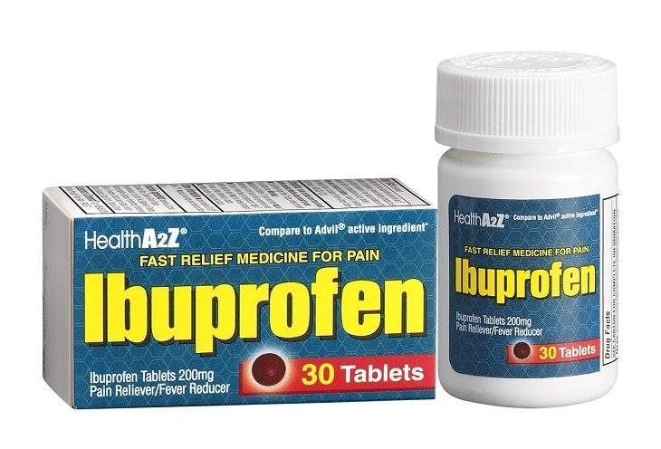 Thuốc Ibuprofen giúp chữa viêm họng mãn tính