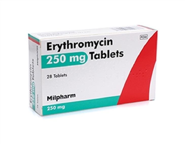 Thuốc kháng sinh Erythromycin