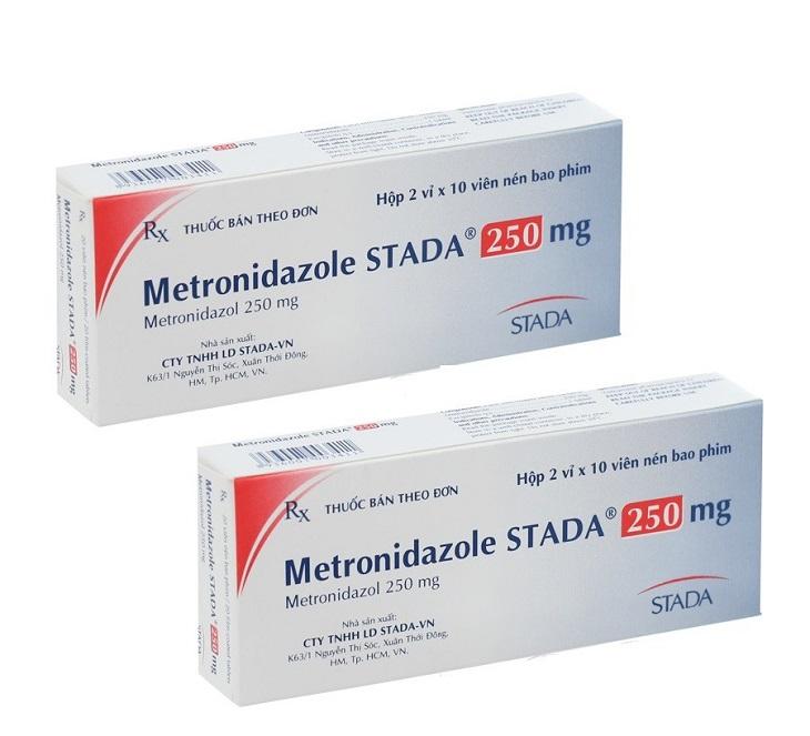 Thuốc trị viêm cổ tử cung Metronidazol