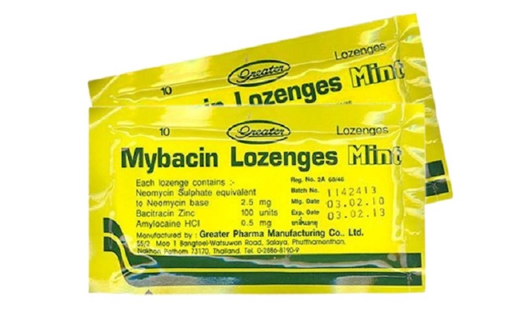 Viêm họng mãn tính nên dùng thuốc ngậm Mybacin