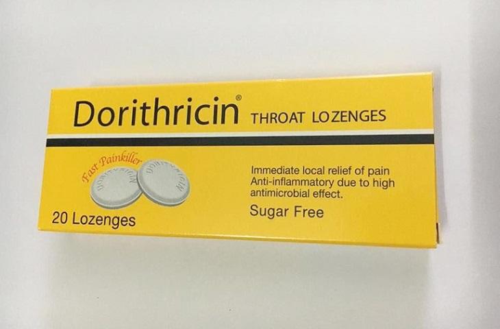 Dorithricin hiện là loại thuốc được sử dụng khá phổ biến để điều trị viêm họng cho phụ nữ mang thai