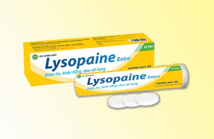 Lysopaine là thuốc ngậm thường được chỉ định để điều trị viêm họng cho phụ nữ mang thai