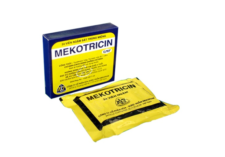 Thuốc trị viêm họng Mekotricin giúp cải thiện các triệu chứng của bệnh viêm họng rất hiệu quả