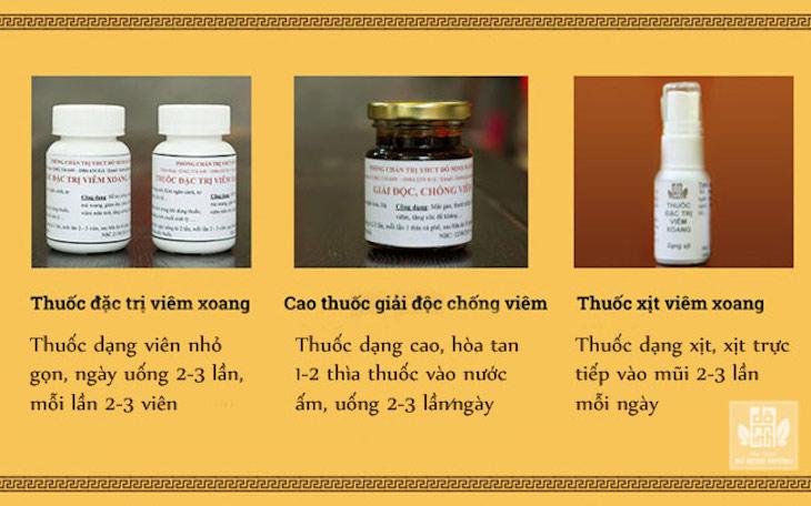 Cách dùng bài thuốc trị viêm xoang, viêm mũi dị ứng đơn giản, dễ nhớ