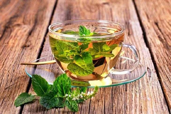 Uống trà bạc hà thường xuyên sẽ giúp cải thiện các triệu chứng của bệnh