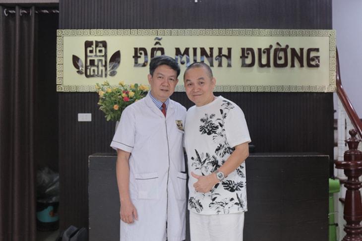 Nghệ sĩ Xuân Hinh - bệnh nhân từng điều trị thoái hóa cột sống tại Đỗ Minh Đường