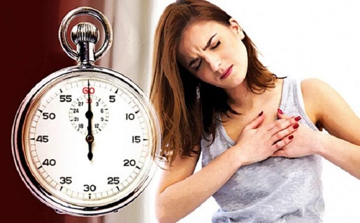 Người mắc bệnh tim không được bấm huyệt số 61 khi dùng diện chẩn