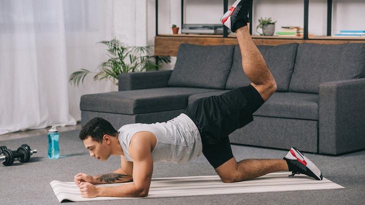 Hãy tập thể dục tại nhà nếu thời tiết khắc nghiệt hoặc quá lạnh