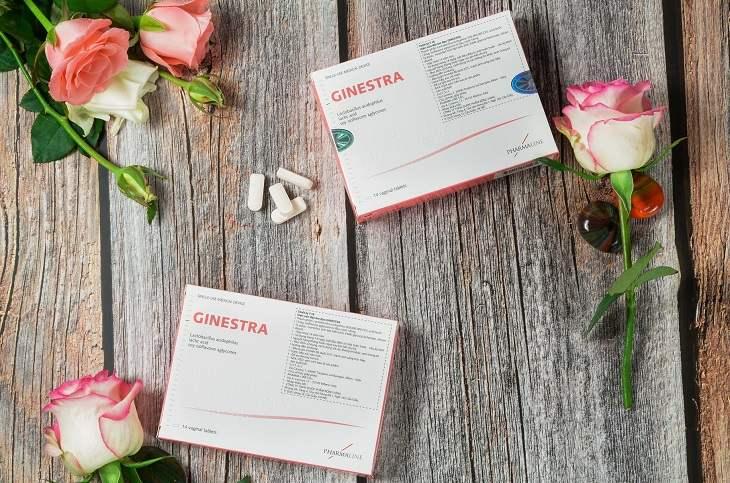 Thuốc đặt âm đạo chữa huyết trắng bất thường Ginestra
