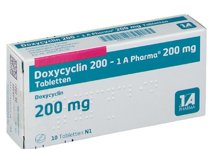 Doxycyclin là loại thuốc chữa huyết trắng bất thường phổ biến hiện nay