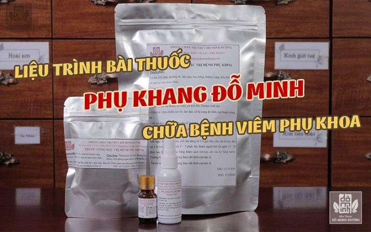 Liệu trình bài thuốc chữa chứng bệnh huyết trắng bất thường nói riêng và bệnh phụ khoa nói chung của Đỗ Minh Đường