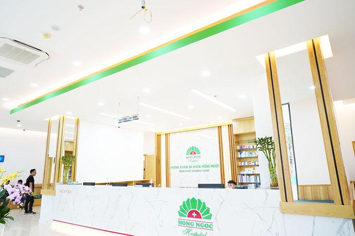 Một cơ sở của Bệnh viện Hồng Ngọc chuyên điều trị viêm âm đạo