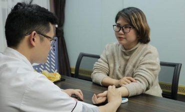Mẹ bầu chữa viêm họng tại Đỗ Minh Đường