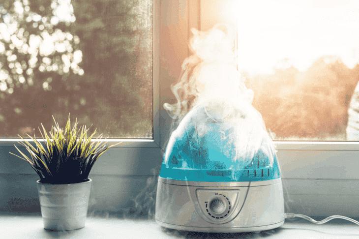 Việc hít thở không khí ẩm thường xuyên giúp cải thiện tình trạng bệnh hiệu quả