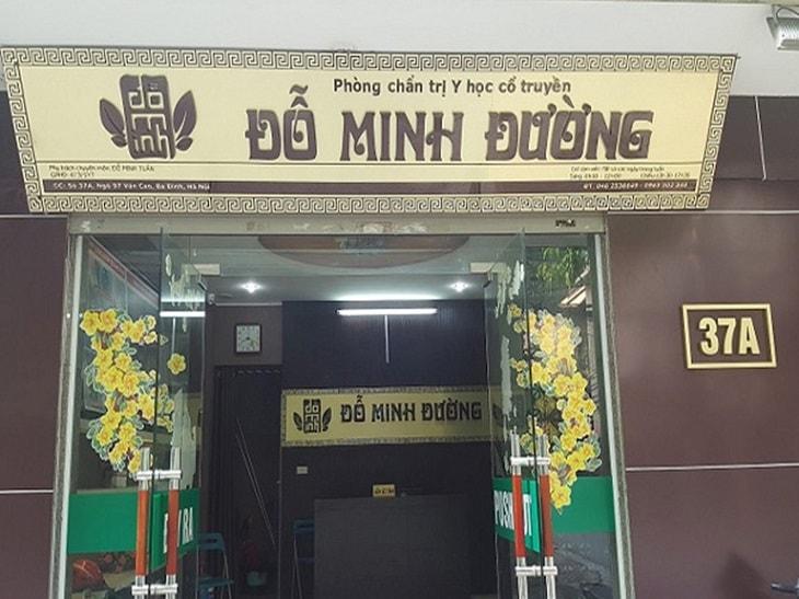 Chữa viêm lộ tuyến tại nhà thuốc Đỗ Minh Đường