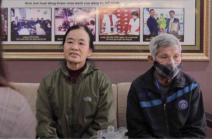 Cô Sình thăm khám bệnh viêm xoang tại Đỗ Minh Đường