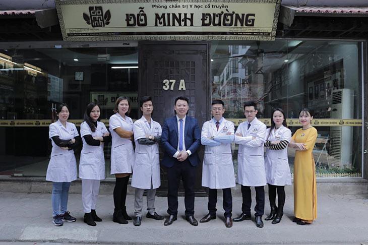Đội ngũ lương y, bác sĩ tại Đỗ Minh Đường (cơ sở miền Bắc)
