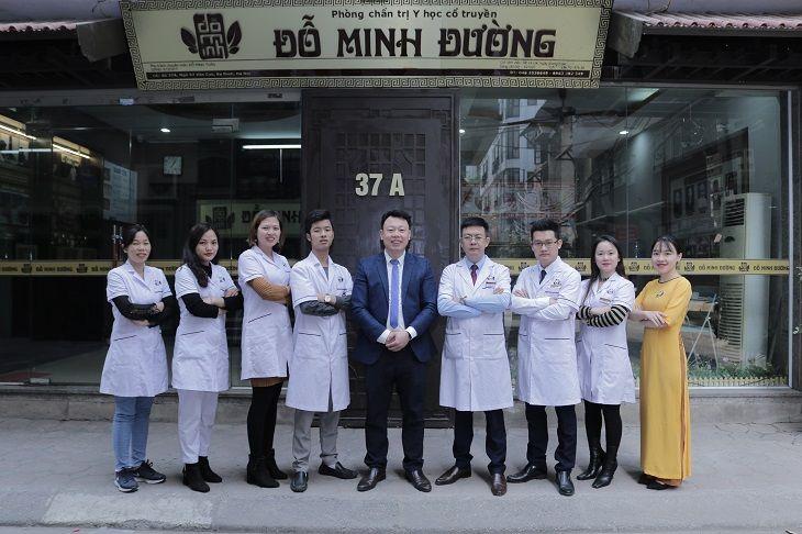 Đội ngũ lương y, bác sĩ tại nhà thuốc Nam Đỗ Minh Đường vừa hồng vừa chuyên