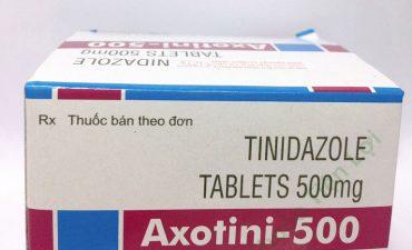 Thuốc điều trị viêm vùng chậu Tinidazole