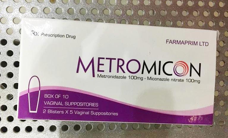 Metromicon là thuốc trị nấm Candida