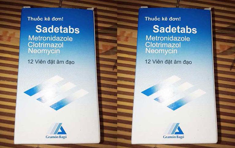 Thuốc trị nấm candida Sadetabs