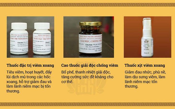 Chữa viêm mũi xoang xuất tiết người bệnh có thể tham khảo bài thuốc của nhà thuốc Đỗ Minh Đường